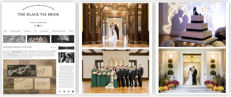 black tie bride feature